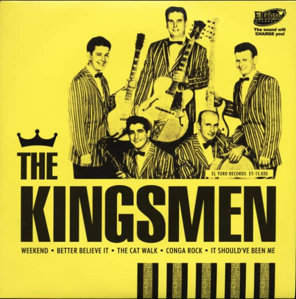 The Kingsmen 33rpm, PS, SC