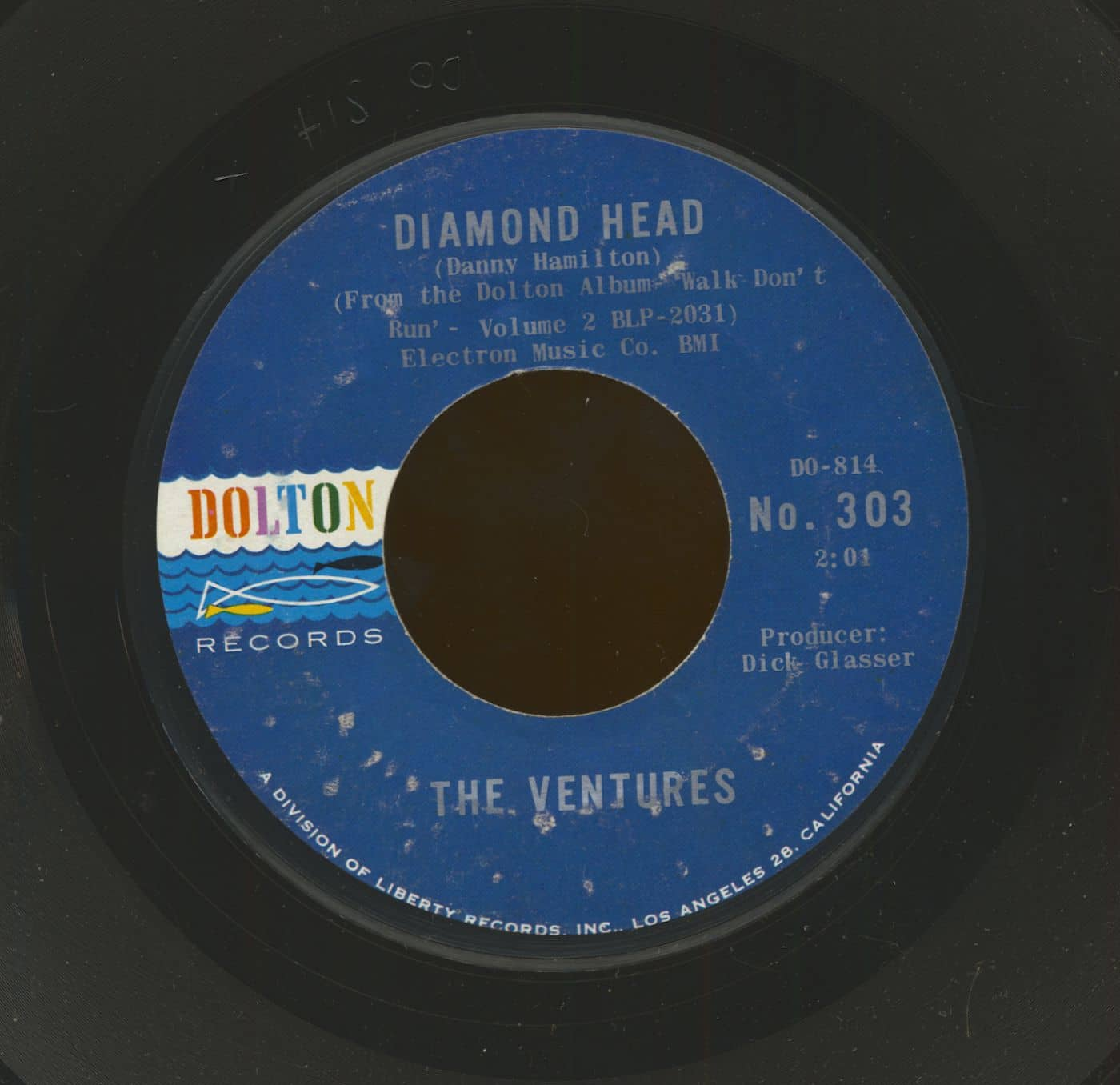 The Ventures 7inch Diamond Head Lonely Girl 7inch