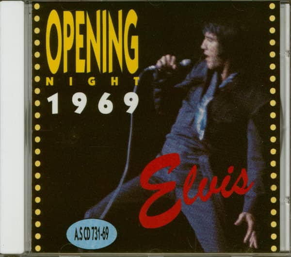 Opening Night '69 (CD)