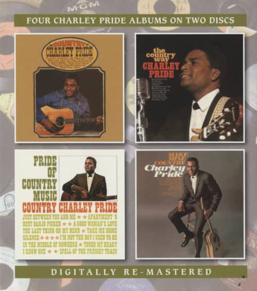 Country Charley Pride - The Country Way - Pride Of Country Music - Make Mine (2-CD)
