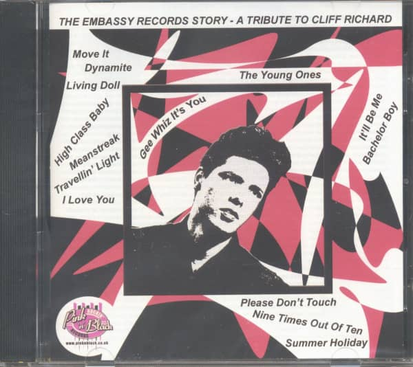 The Embassy Records Story - A Tribute To Cliff Richard (CD)