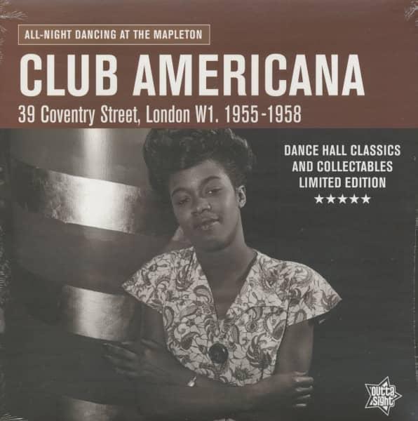 Club Americana - All-Night Dancing At The Mapleton (LP)