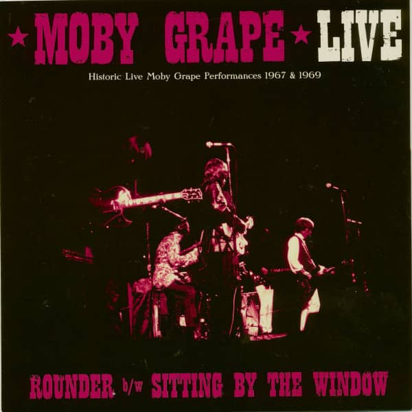 Live: Rounder - Sitting By The Window (45rpm, PS)