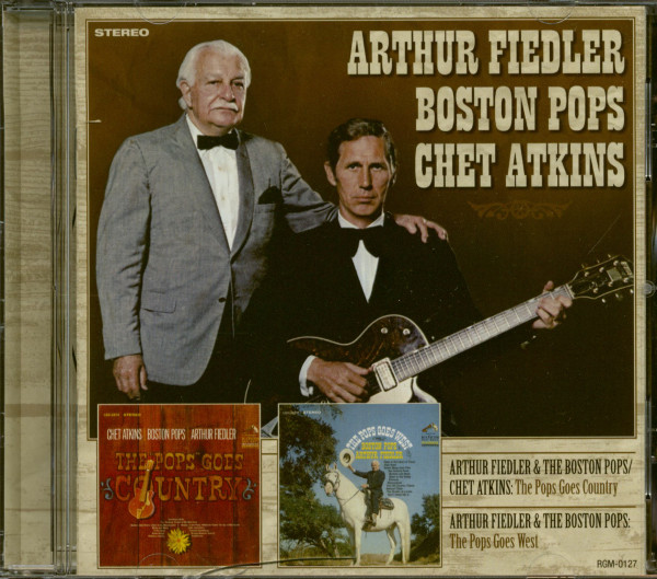 The Pops Goes Country & The Pops Goes West (CD)
