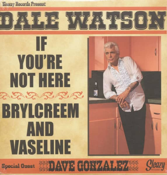 If You're Not Here - Brylcreem And Vaseline (7inch, 45rpm, PS)