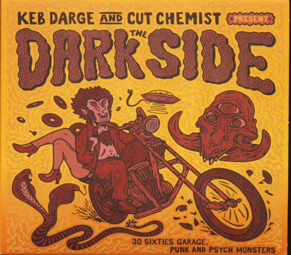 Keb Darge & Cut Chemist Present - The Dark Side (CD)