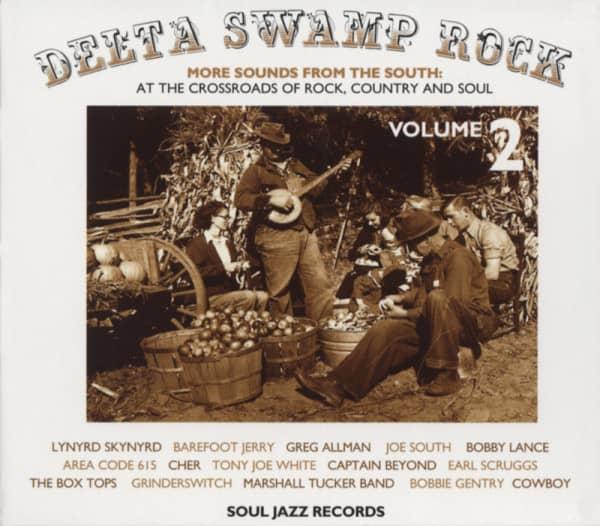 Vol.2, Delta Swamp Rock (2-CD - 68p.Booklet) Sl