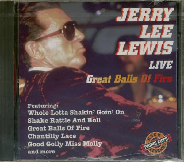 Great Balls of Fire - Live (CD)