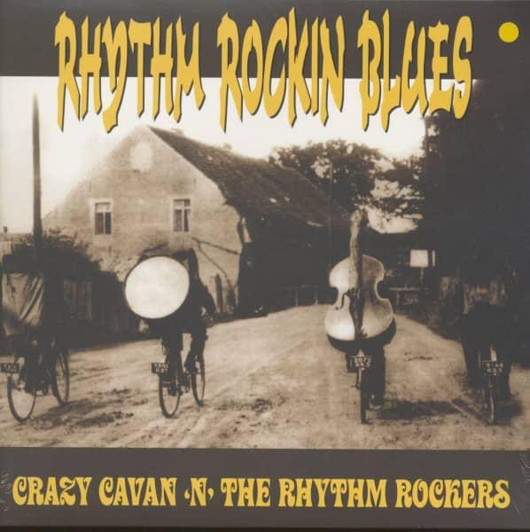 Rhythm Rockin Blues (LP, Blue Vinyl, Ltd.)