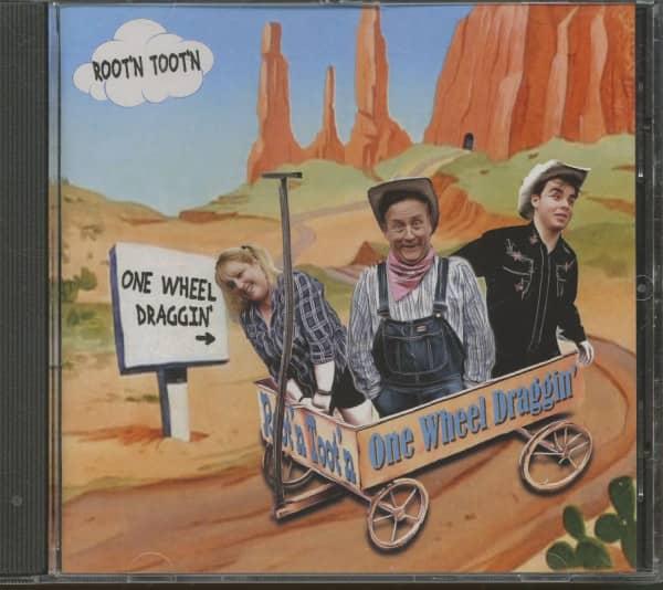 One Wheel Draggin' (CD)