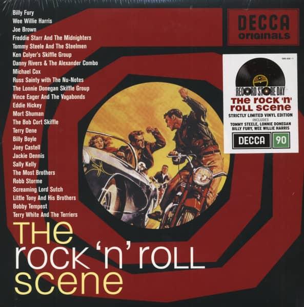 The Rock'n'Roll Scene - Decca Originals (2-LP, Ltd.)