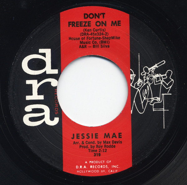 Don't Freeze On Me b-w It Might As Well Be Spring 7inch, 45rpm