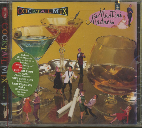 Cocktail Mix, Vol.2 - Martini Madness (CD)