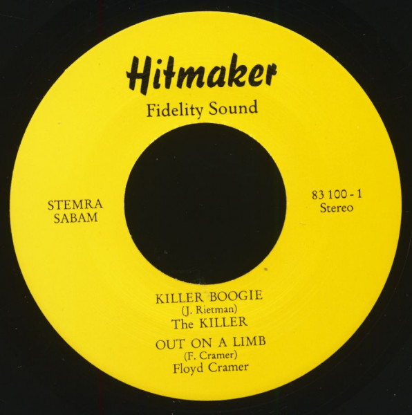 Killer Boogie (7inch, EP, 45rpm)