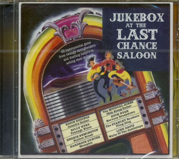 Jukebox At The Last Chance Saloon (CD)