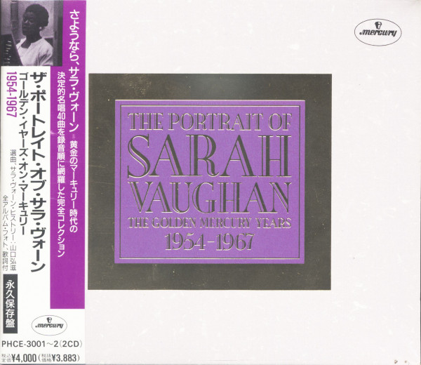 The Portrait Of Sarah Vaughan - The Golden Mercury Years (2-CD)
