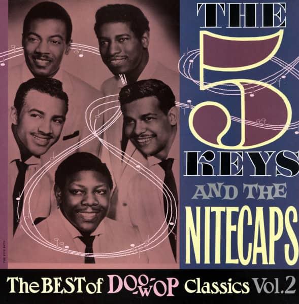 The 5 Keys And The Nitecaps - The Best Of Doo-Wop Vol.2 (LP)