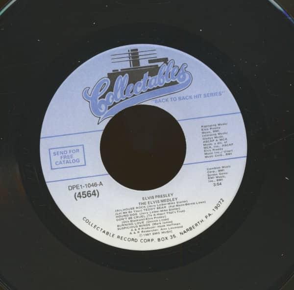 The Elvis Medley - Always On My Mind (7inch, 45rpm)