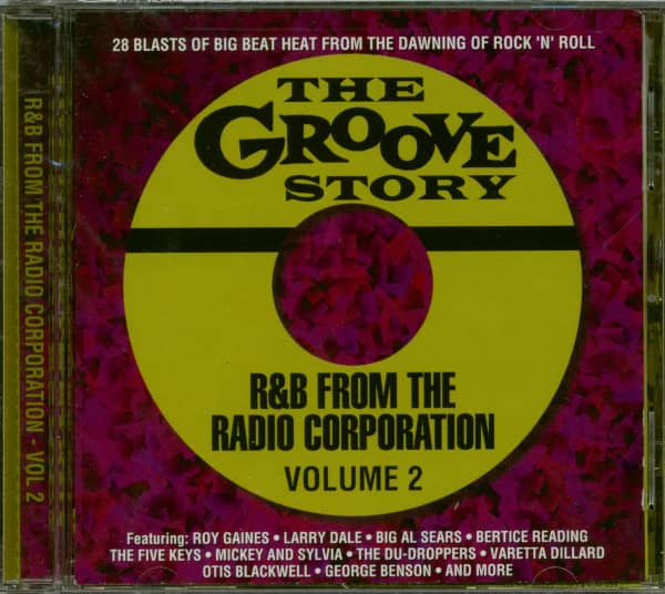 The Groove Story - R&B From The Radio Corporation Vol.2 (CD)