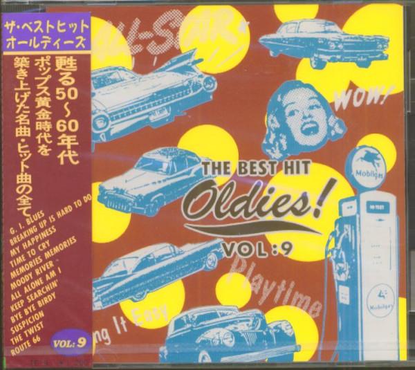 The Best Hit Oldies, Vol.9 (CD, Japan)