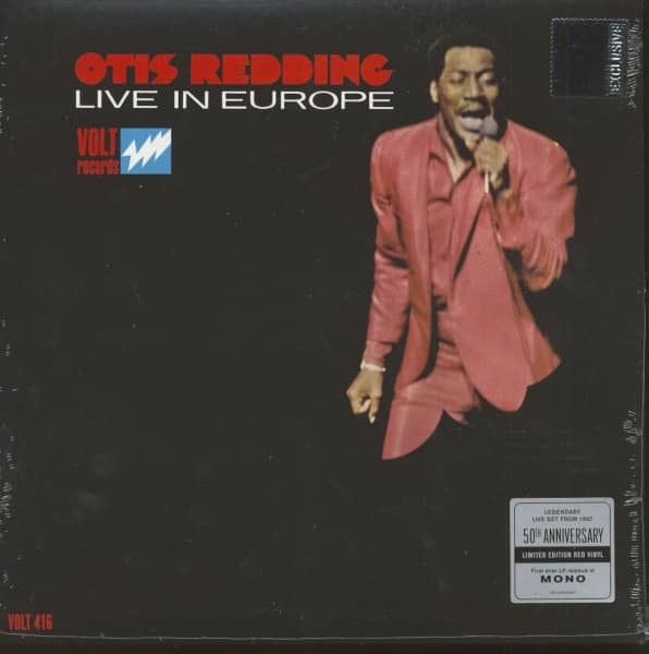 Otis Redding Live In Europe - Record Store Day (LP, Ltd.)