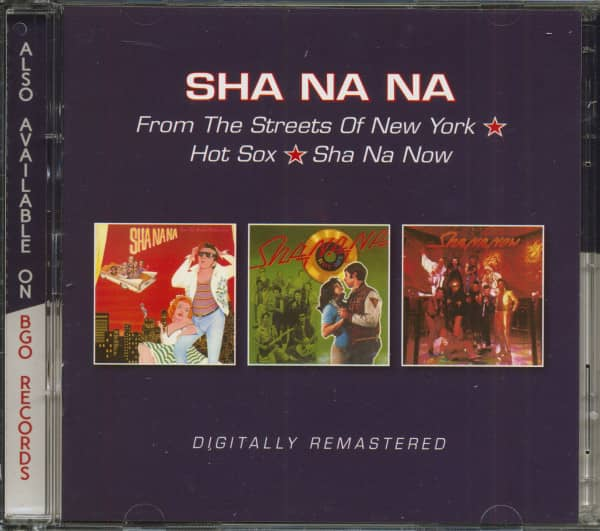 From The Streets Of New York - Hot Sox - Sha Na Now (2-CD)