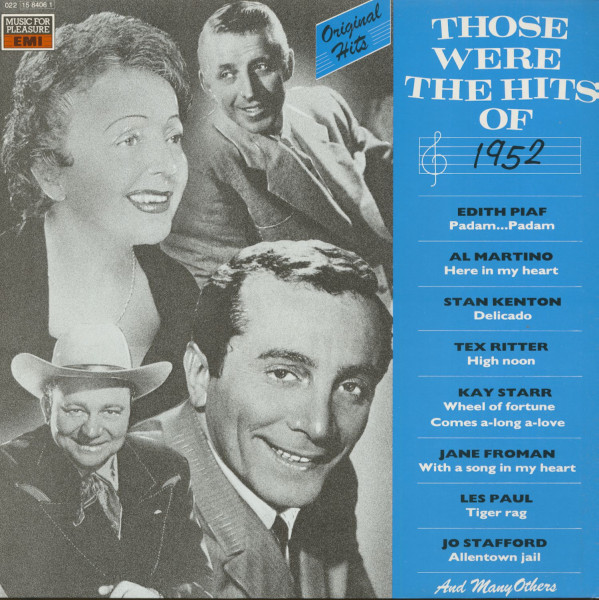 Those Were The Hits Of 1952 (LP)