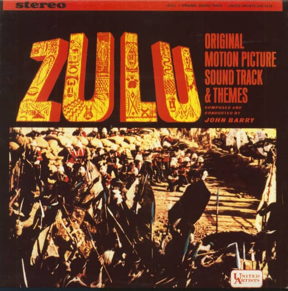 John Barry Amp His Orchestra Lp Zulu Original Motion