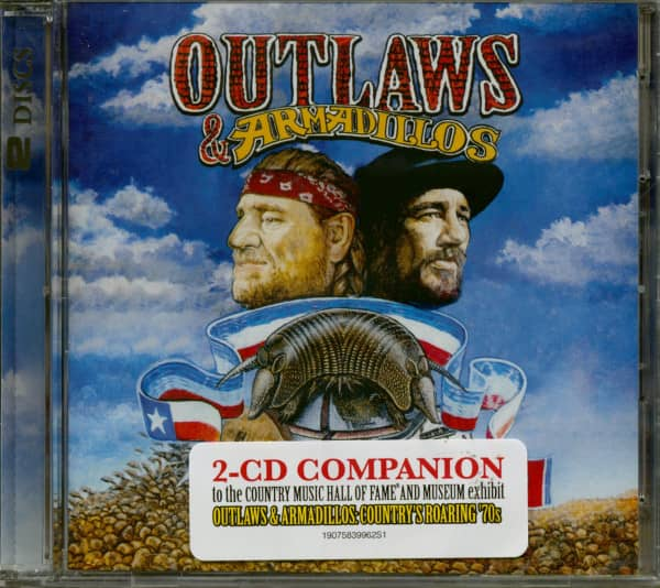 Outlaws & Armadillos (2-CD)