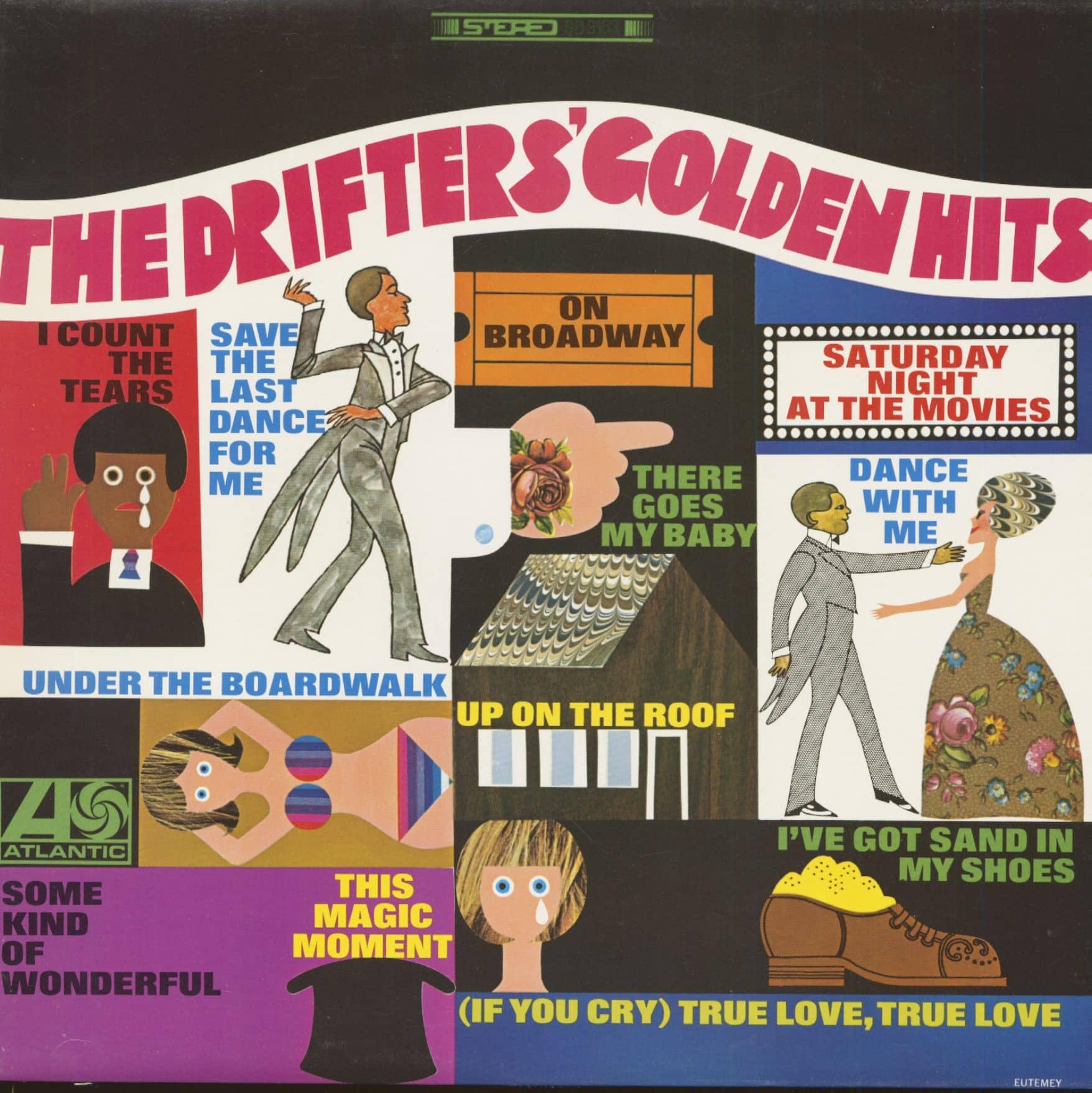 The Drifters Lp The Drifter S Golden Hits Lp Bear