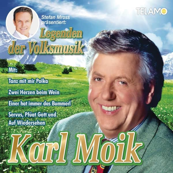 Stefan Mross präsentiert Legenden der Volksmusik: Karl Moik (CD)