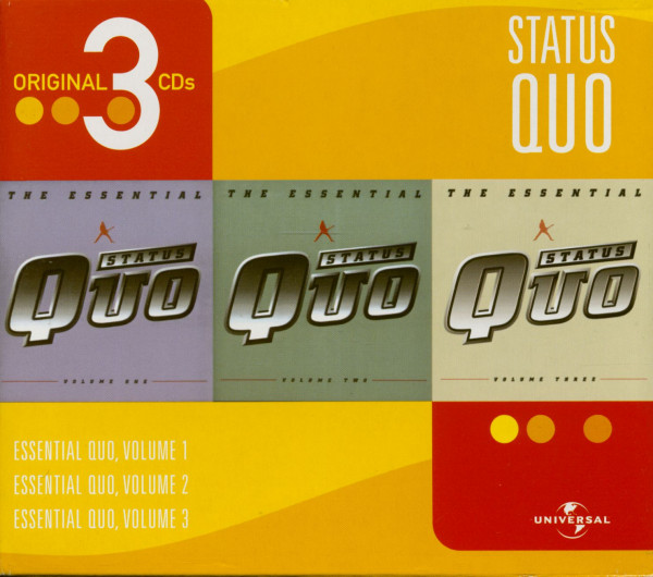 Original 3 CDs - Essential Status Quo (3-CD)