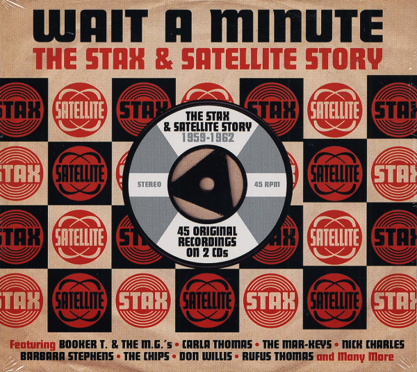 Wait A Minute - Stax & Satellite Story (2-CD)