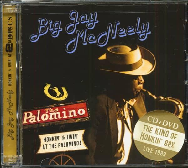 Honkin' & Jivin' At The Palomino - Live 1989 (CD & DVD)