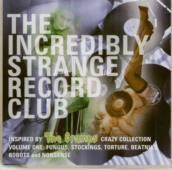 The Incredible Strange Record Club (CD)