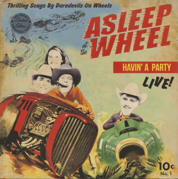 Havin' A Party Live - Thrilling Songs By The Daredevils On Wheels (LP, 180g Vinyl, Ltd.)