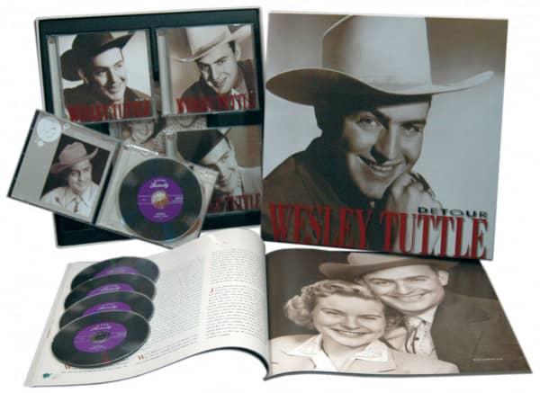 Detour (4-CD & 1-DVD mit 83-seitigem Buch)