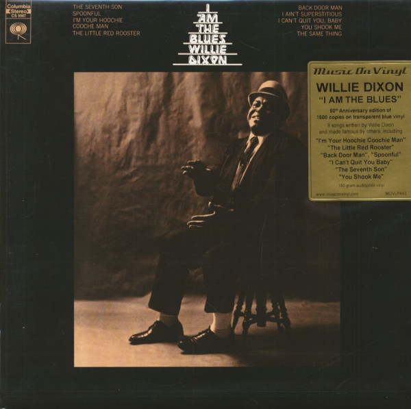 I Am The Blues (LP, 180g Vinyl, Colored, Ltd.)