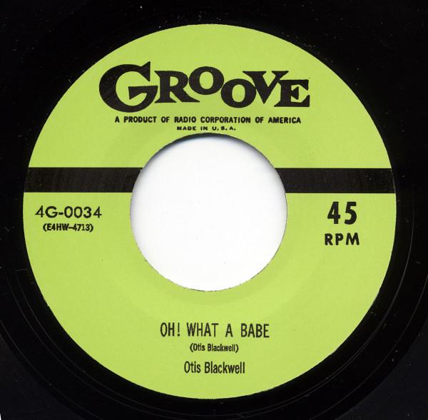 Otis Blackwell - Big Red McHouston 7inch, 45rpm
