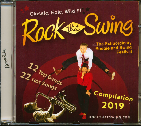 Rock That Swing - Festival Compilation 2019 (CD)