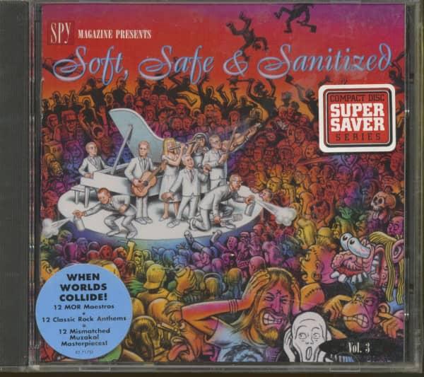 Spy Magazine Presents Vol.3 - Soft, Safe And Sanitized (CD)