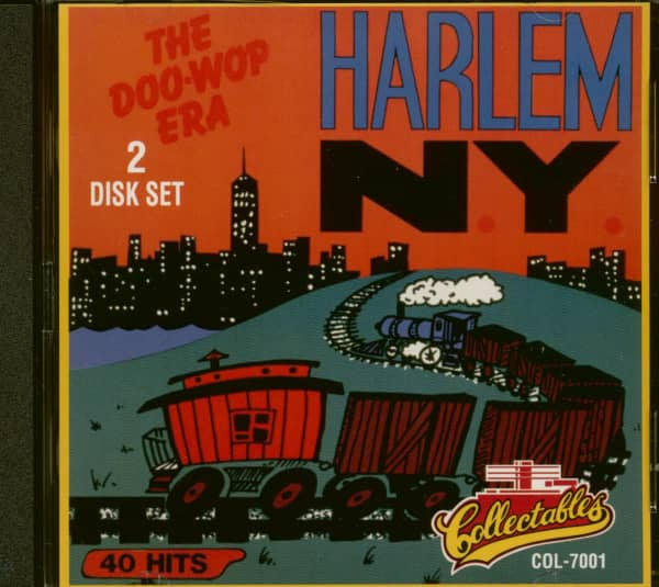 Harlem New York - The Doo-Wop Era Vol.1 (2-CD)