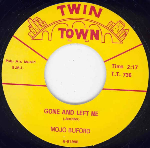 Gone And Left Me b-w Bird Nest On The Ground 7inch, 45rpm