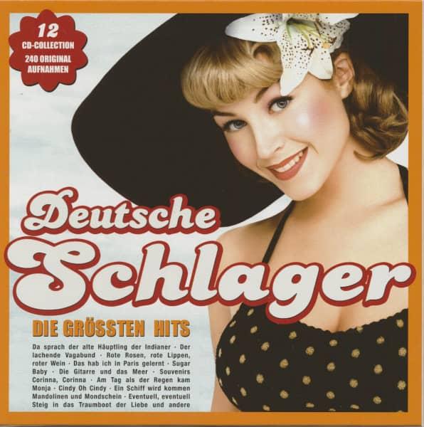 Deutsche Schlager - Die Größten Hits (12-CD)