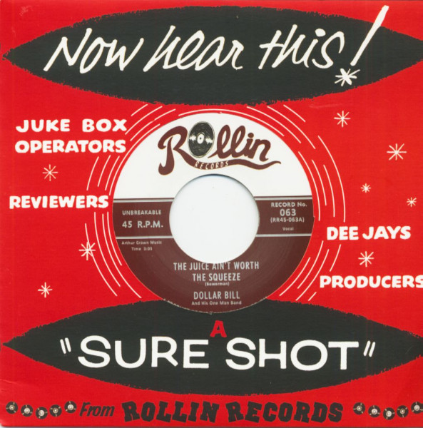 The Juice Ain't Worth The Squeeze (7inch, 45rpm)