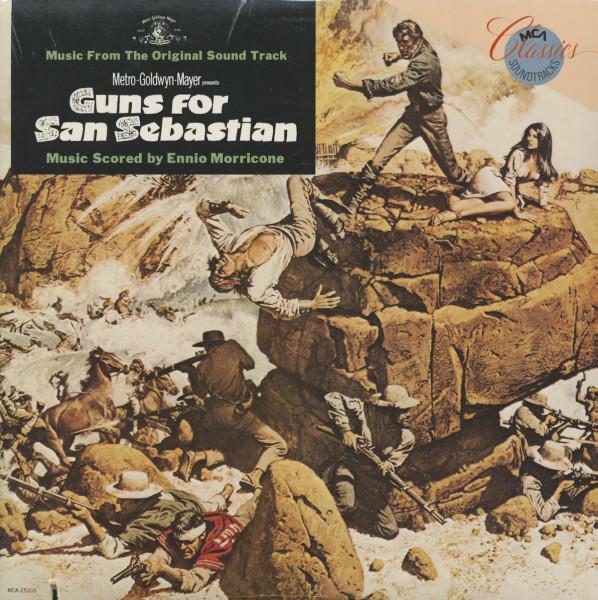 Guns For San Sebastian - Soundtrack (LP)