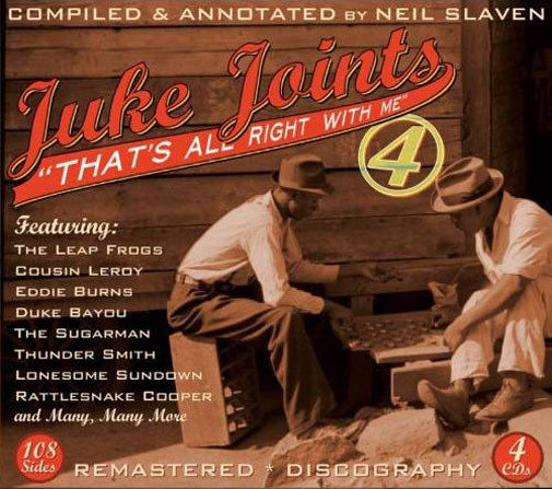 Juke Joints 4 - That's All Right With Me (4-CD)