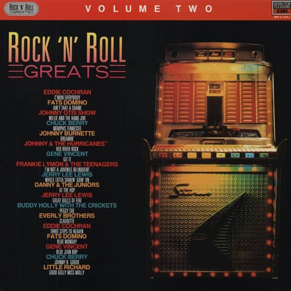 Rock & Roll Greats, Vol.2 (LP)