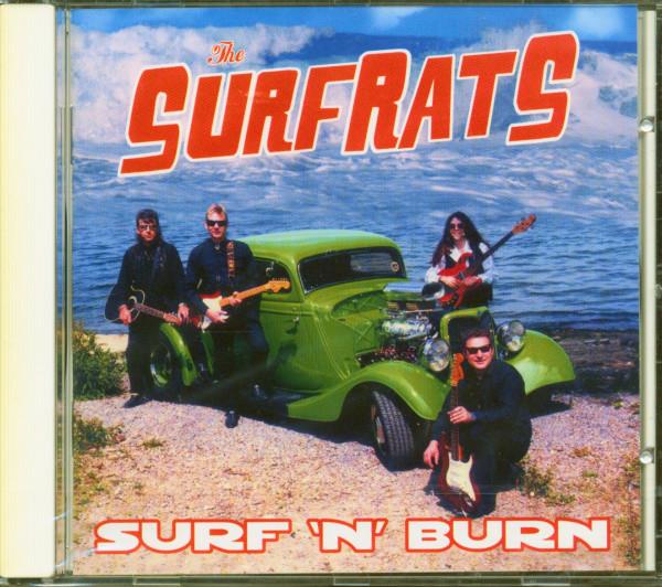 Surf 'n' Burn (CD)