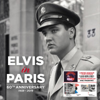 Elvis In Paris - 60th Anniversary (LP, Blue, White & Red Vinyl, Ltd.)